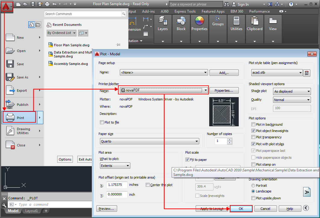 free autocad to pdf converter software download