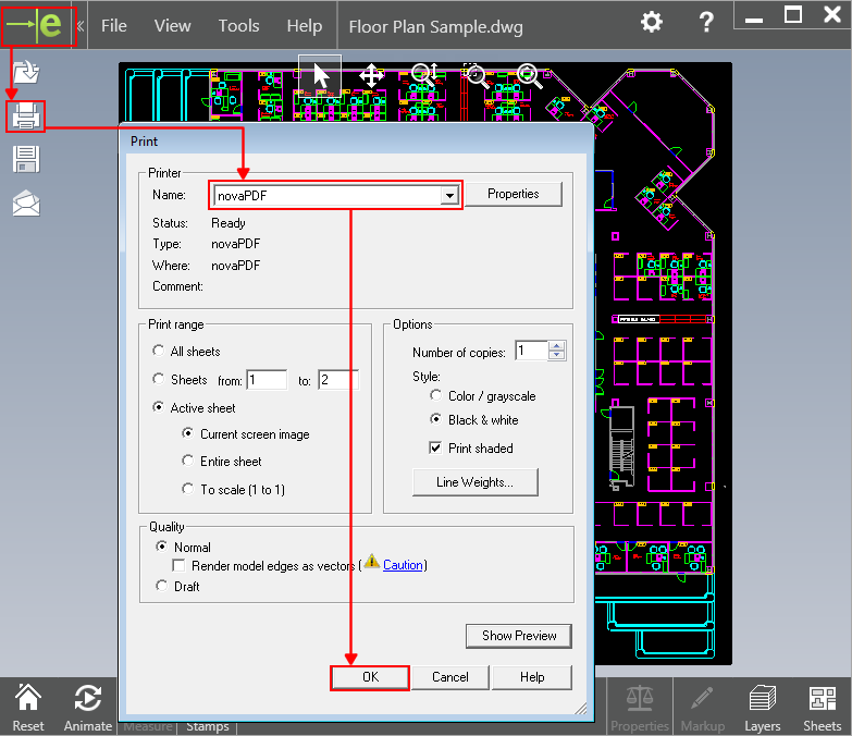 Autocad Plan Pdf File