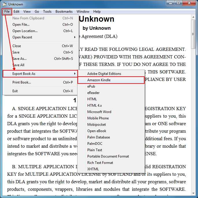 Kindle files you can pdf to