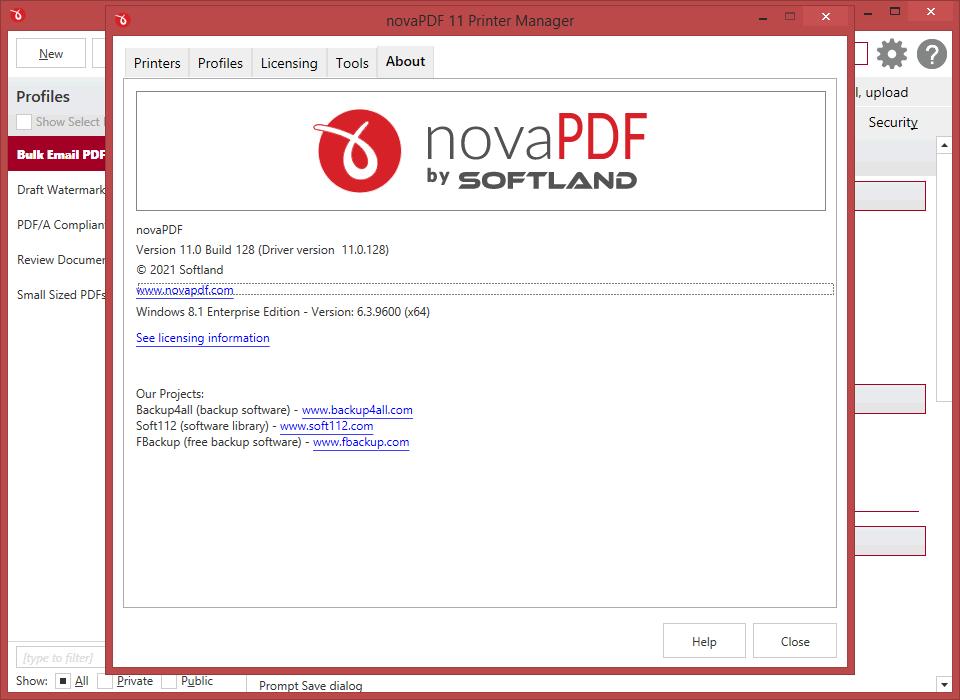 novaPDF novaPDF - PDF Creator
